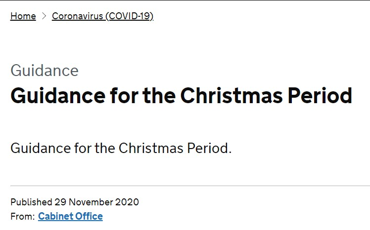 Read more about the article Christmas Guidance