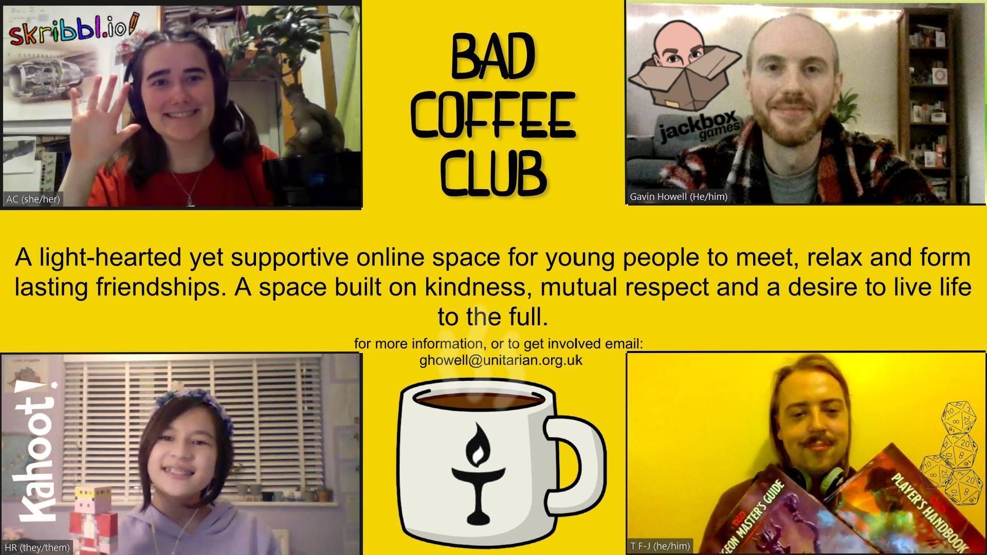 Bad Coffee – Youth Group