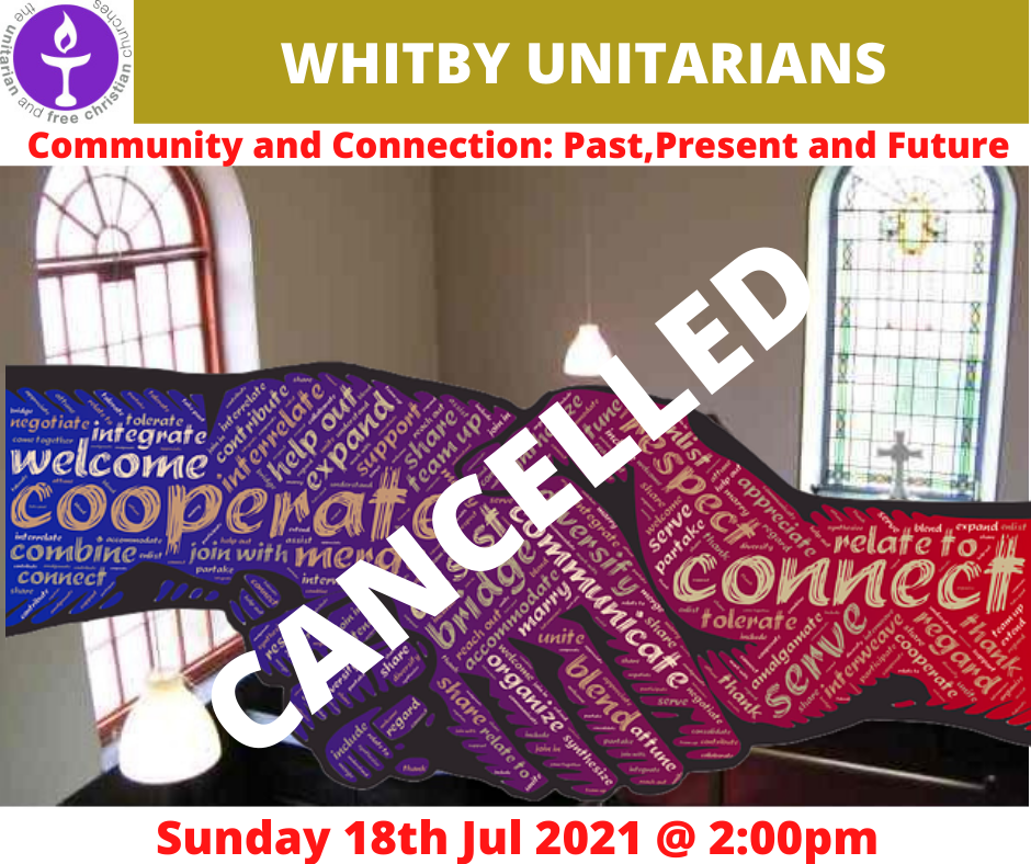 Read more about the article CANCELLED – Whitby Service 18 July 2021