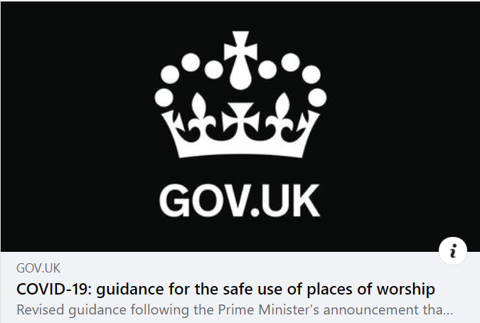 Read more about the article Latest Government Covid Advice